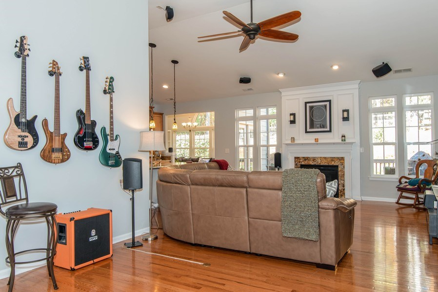 Real Estate Photography - 333 Woodward Ridge Dr, Mount Holly, NC, 28120 - Living Room