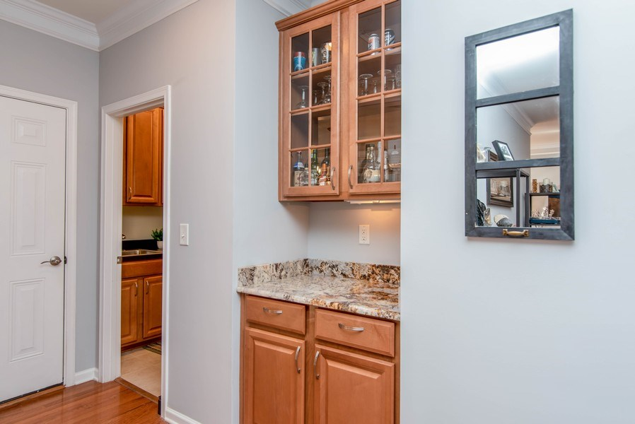 Real Estate Photography - 333 Woodward Ridge Dr, Mount Holly, NC, 28120 - Butler's pantry