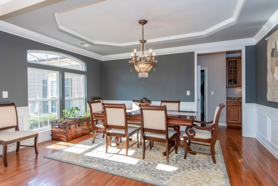 Real Estate Photography - 333 Woodward Ridge Dr, Mount Holly, NC, 28120 - Dining Room