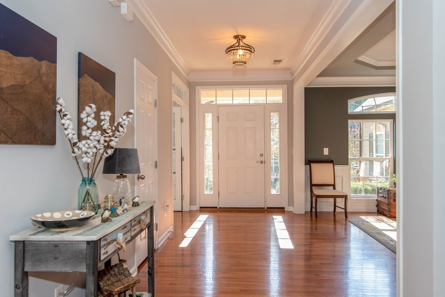 Real Estate Photography - 333 Woodward Ridge Dr, Mount Holly, NC, 28120 - Foyer