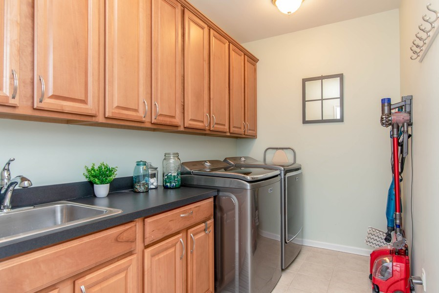 Real Estate Photography - 333 Woodward Ridge Dr, Mount Holly, NC, 28120 - Laundry Room
