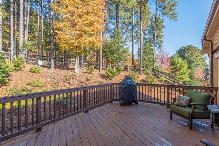 Real Estate Photography - 333 Woodward Ridge Dr, Mount Holly, NC, 28120 - Deck