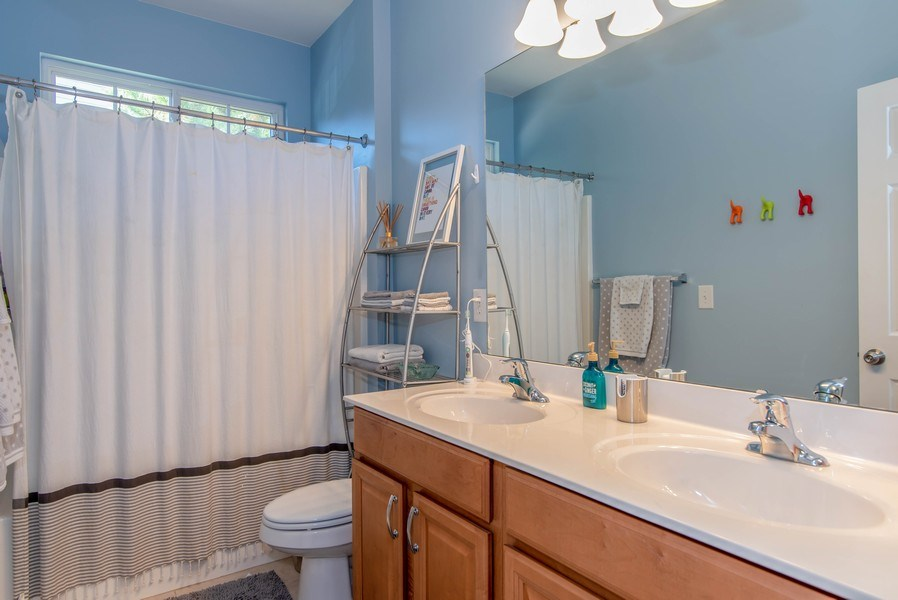 Real Estate Photography - 333 Woodward Ridge Dr, Mount Holly, NC, 28120 - Bathroom