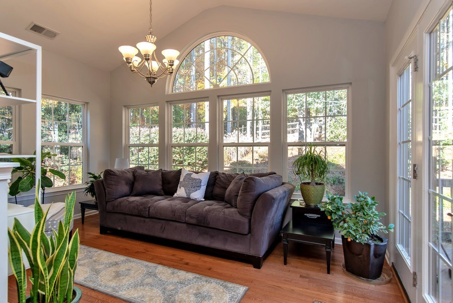 Real Estate Photography - 333 Woodward Ridge Dr, Mount Holly, NC, 28120 - Sun Room