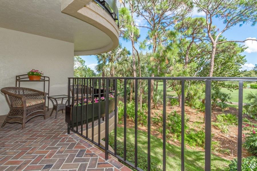 Real Estate Photography - 6710 Pelican Bay Blvd, Unit 435, Naples, FL, 34108 - Terrace
