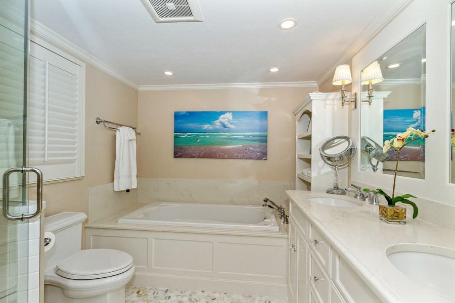 Real Estate Photography - 6710 Pelican Bay Blvd, Unit 435, Naples, FL, 34108 - Master Bathroom