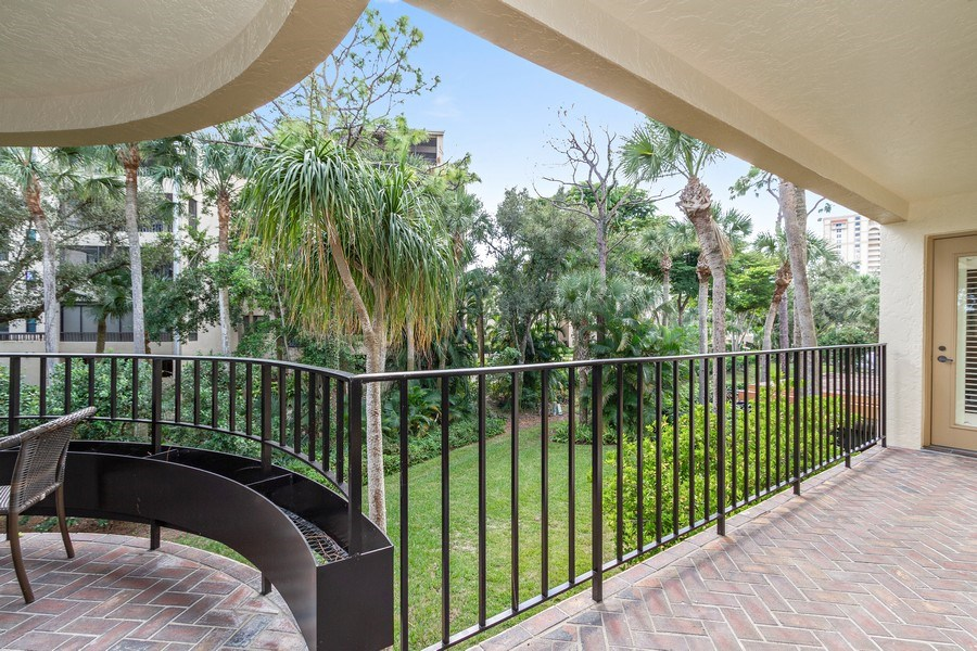 Real Estate Photography - 6710 Pelican Bay Blvd, Unit 435, Naples, FL, 34108 - Terrace 3