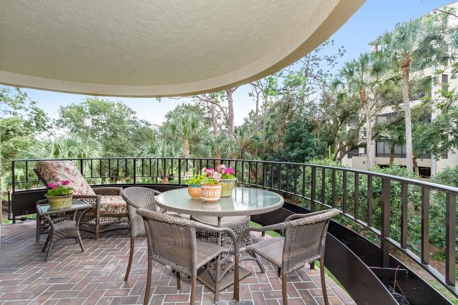 Real Estate Photography - 6710 Pelican Bay Blvd, Unit 435, Naples, FL, 34108 - Terrace 4