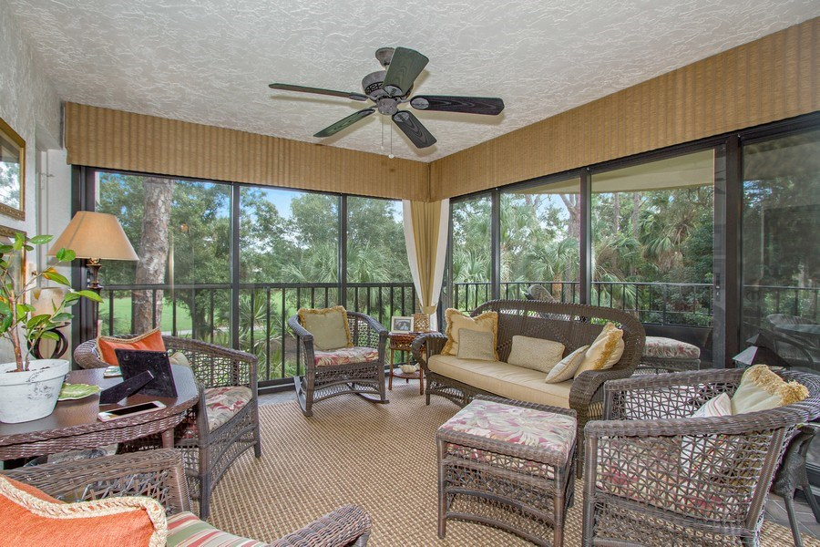 Real Estate Photography - 6710 Pelican Bay Blvd, Unit 435, Naples, FL, 34108 - Family Room