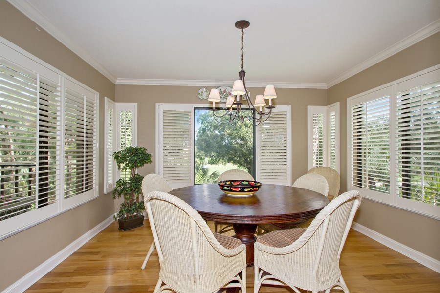 Real Estate Photography - 6710 Pelican Bay Blvd, Unit 435, Naples, FL, 34108 - Dining Room