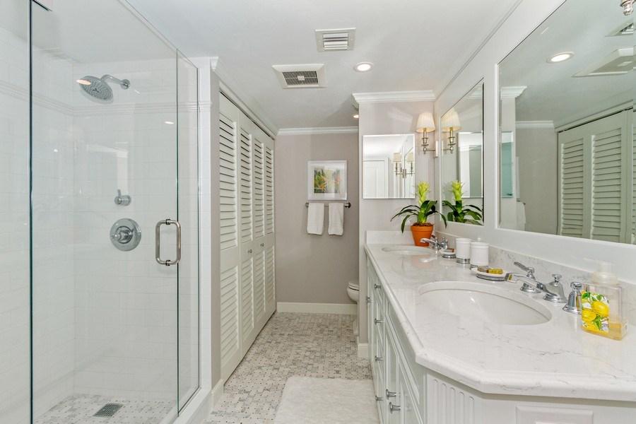 Real Estate Photography - 6710 Pelican Bay Blvd, Unit 435, Naples, FL, 34108 - Bathroom