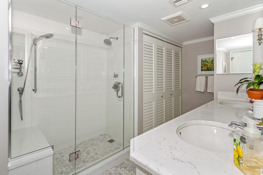 Real Estate Photography - 6710 Pelican Bay Blvd, Unit 435, Naples, FL, 34108 - 2nd Bathroom