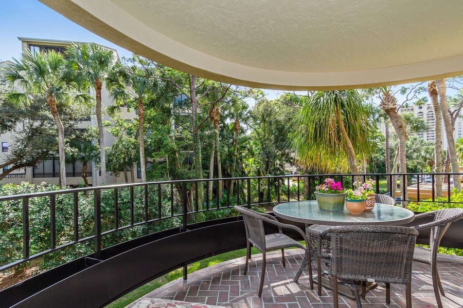 Real Estate Photography - 6710 Pelican Bay Blvd, Unit 435, Naples, FL, 34108 - Balcony