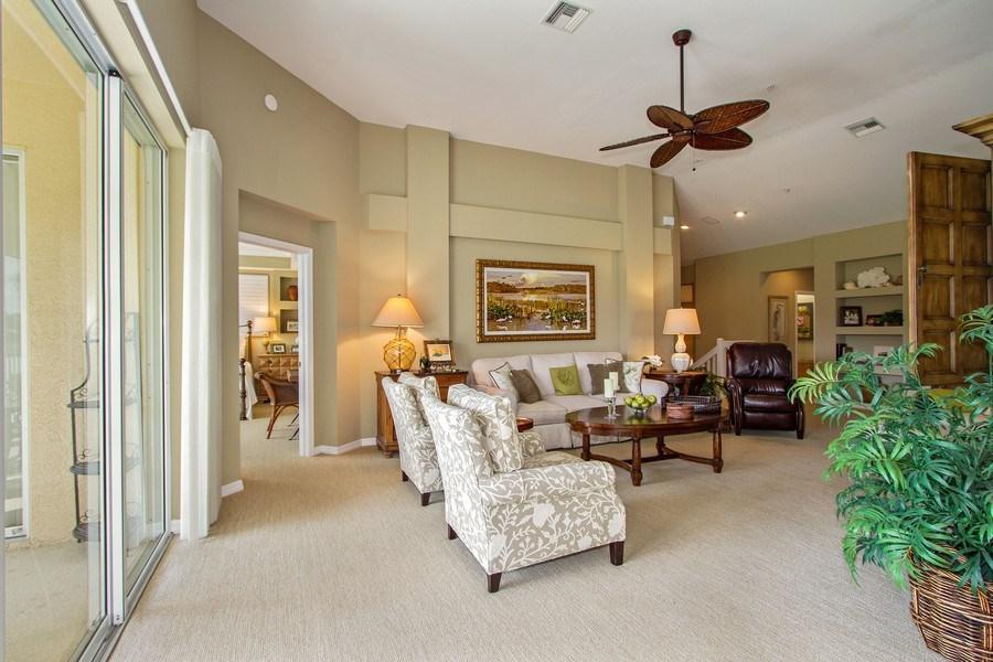 Real Estate Photography - 1615 Winding Oaks Way #201, Naples, FL, 34109 - Living Room