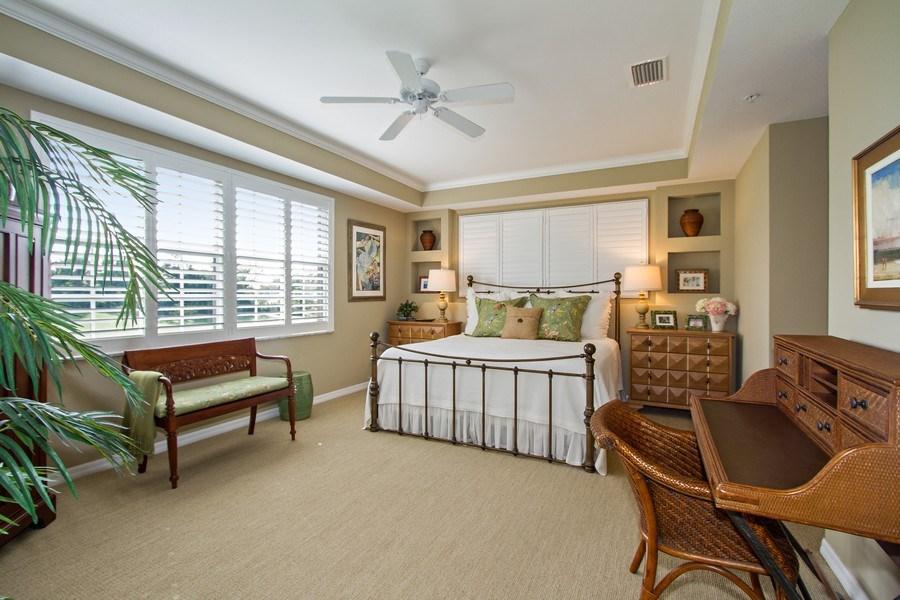 Real Estate Photography - 1615 Winding Oaks Way #201, Naples, FL, 34109 - Master Bedroom