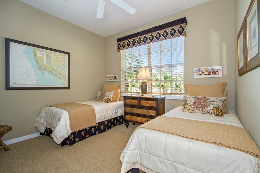 Real Estate Photography - 1615 Winding Oaks Way #201, Naples, FL, 34109 - 2nd Bedroom