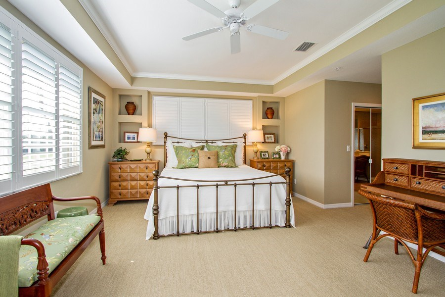 Real Estate Photography - 1615 Winding Oaks Way #201, Naples, FL, 34109 - Master Bedroom