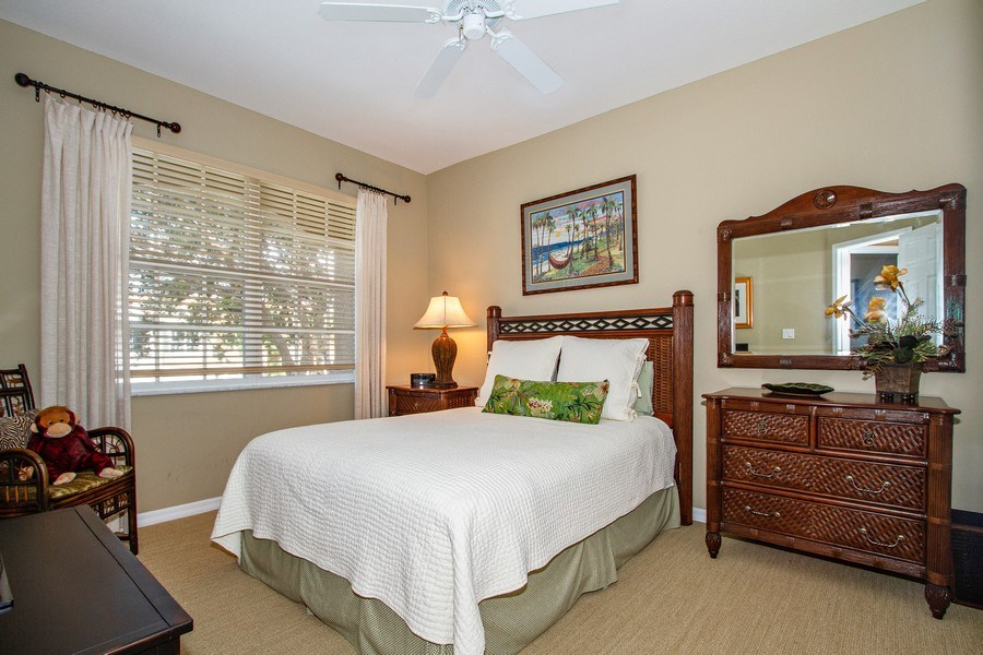 Real Estate Photography - 1615 Winding Oaks Way #201, Naples, FL, 34109 - Bedroom