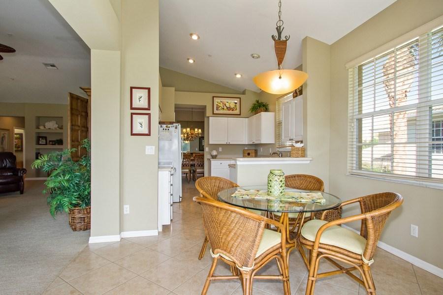 Real Estate Photography - 1615 Winding Oaks Way #201, Naples, FL, 34109 - Kitchen / Breakfast Room