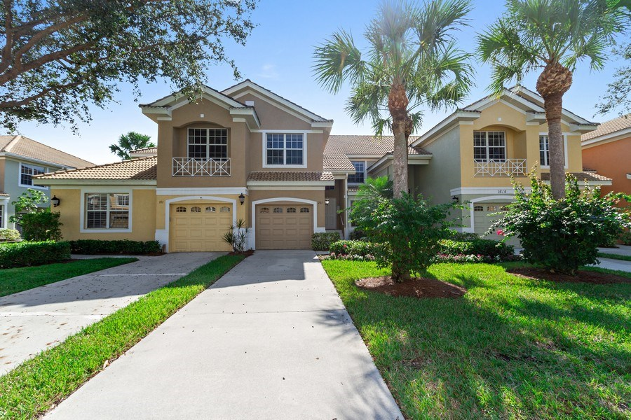 Real Estate Photography - 1615 Winding Oaks Way #201, Naples, FL, 34109 - Front View