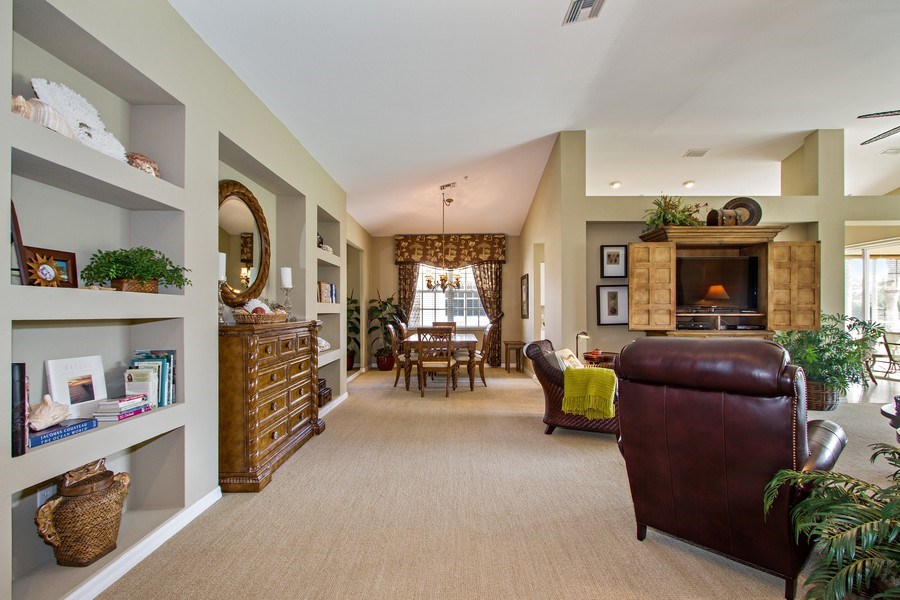 Real Estate Photography - 1615 Winding Oaks Way #201, Naples, FL, 34109 - Hallway