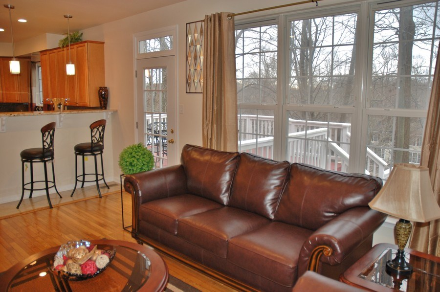 Real Estate Photography - 4825 Ellicott Woods Ln, Ellicott City, MD, 21043 - Family Room