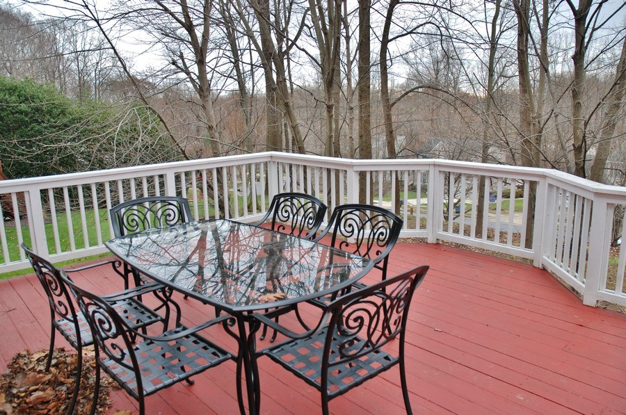 Real Estate Photography - 4825 Ellicott Woods Ln, Ellicott City, MD, 21043 - Deck