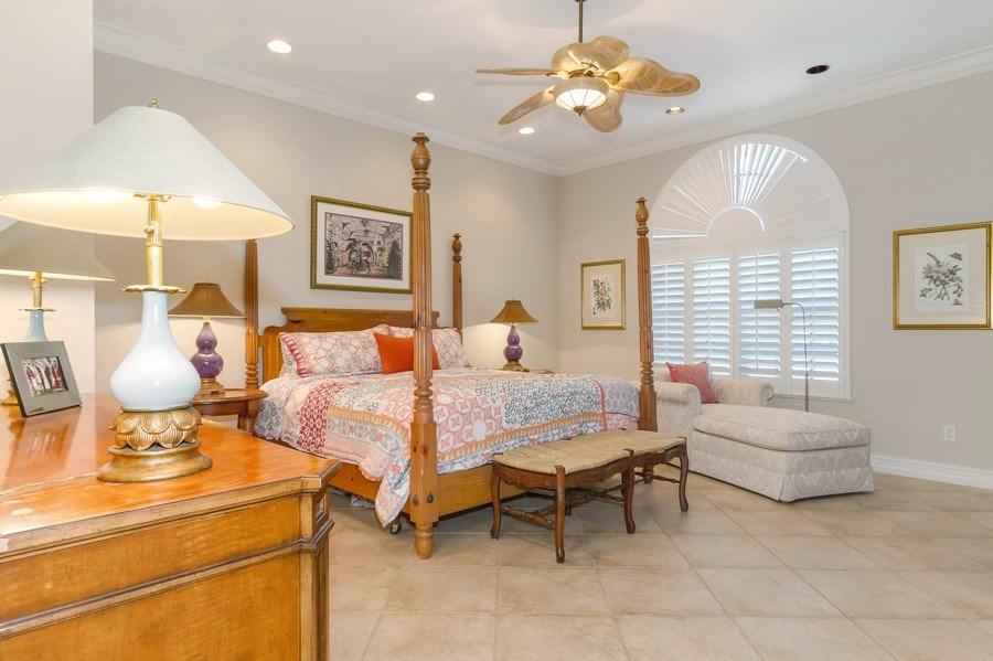 Real Estate Photography - 815 Bentwood Dr, Naples, FL, 34108 - Master Bedroom
