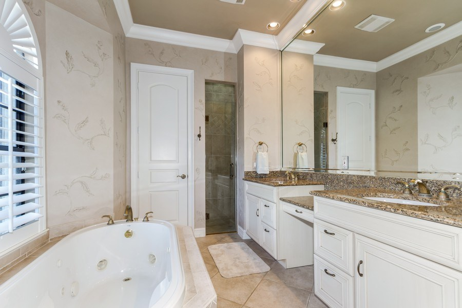 Real Estate Photography - 815 Bentwood Dr, Naples, FL, 34108 - Master Bathroom