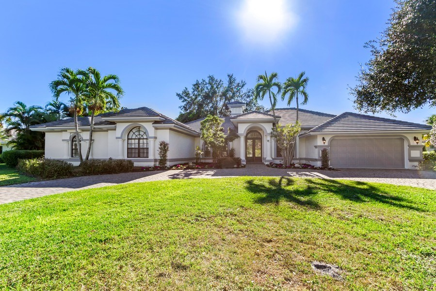Real Estate Photography - 815 Bentwood Dr, Naples, FL, 34108 - Front View