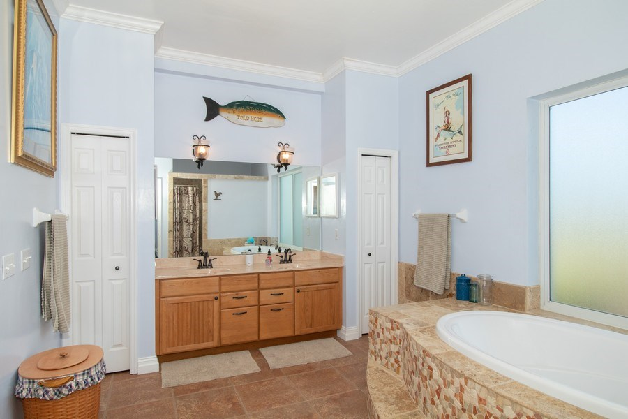 Real Estate Photography - 20101 Langford Road, Alva, FL, 33920 - Master Bathroom
