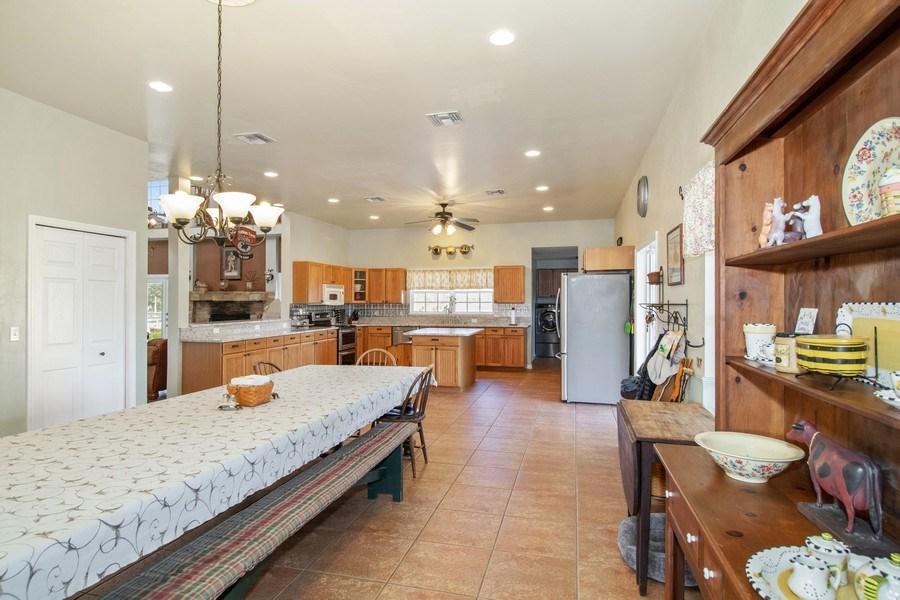 Real Estate Photography - 20101 Langford Road, Alva, FL, 33920 - Dining Room