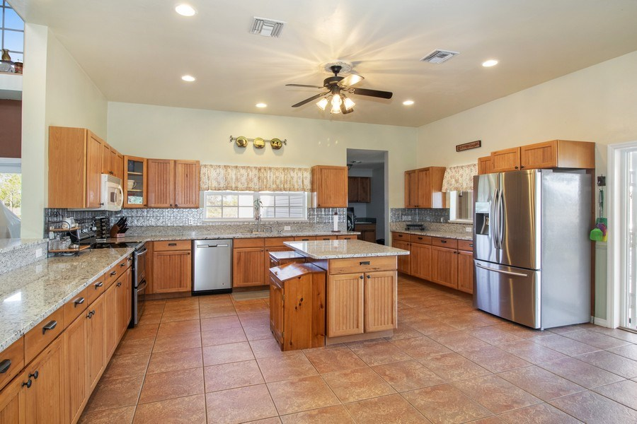 Real Estate Photography - 20101 Langford Road, Alva, FL, 33920 - Kitchen