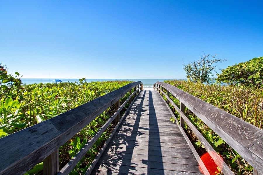 Real Estate Photography - 267 Barefoot Beach Blvd, 301, Bonita Springs, FL, 34134 - Walking Path