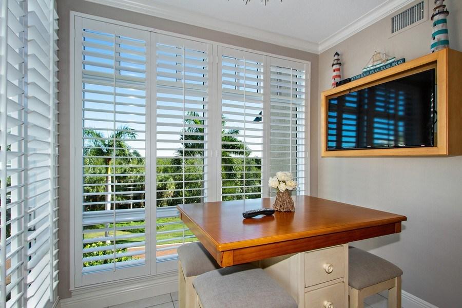Real Estate Photography - 267 Barefoot Beach Blvd, 301, Bonita Springs, FL, 34134 - Breakfast Nook