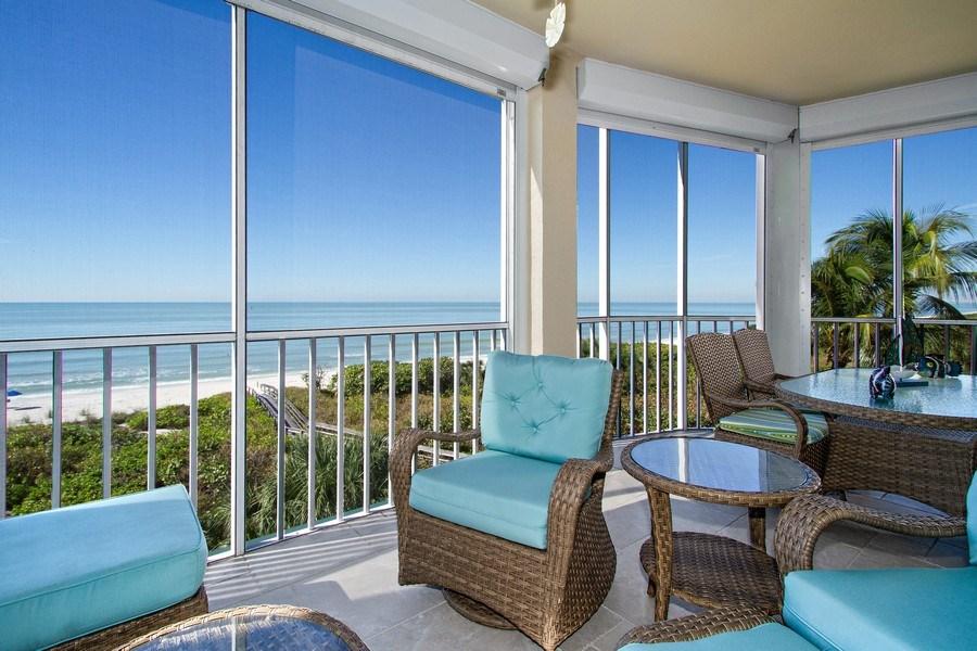 Real Estate Photography - 267 Barefoot Beach Blvd, 301, Bonita Springs, FL, 34134 - Patio