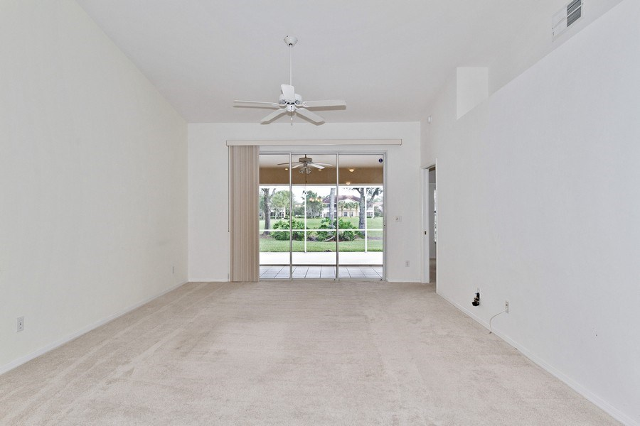 Real Estate Photography - 8071 Palomino Dr, Naples, FL, 34113 - Living Room