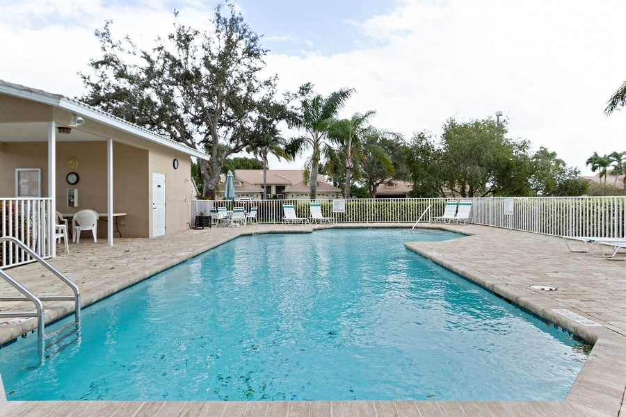 Real Estate Photography - 8071 Palomino Dr, Naples, FL, 34113 - Outdoor Pool