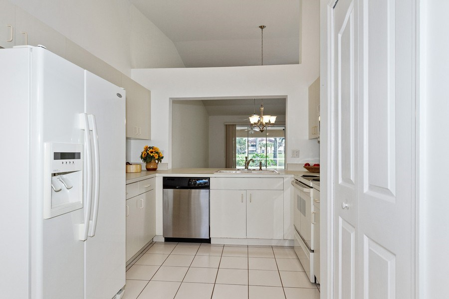 Real Estate Photography - 8071 Palomino Dr, Naples, FL, 34113 - Kitchen