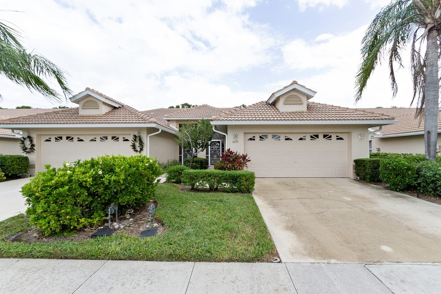 Real Estate Photography - 8071 Palomino Dr, Naples, FL, 34113 - Front View