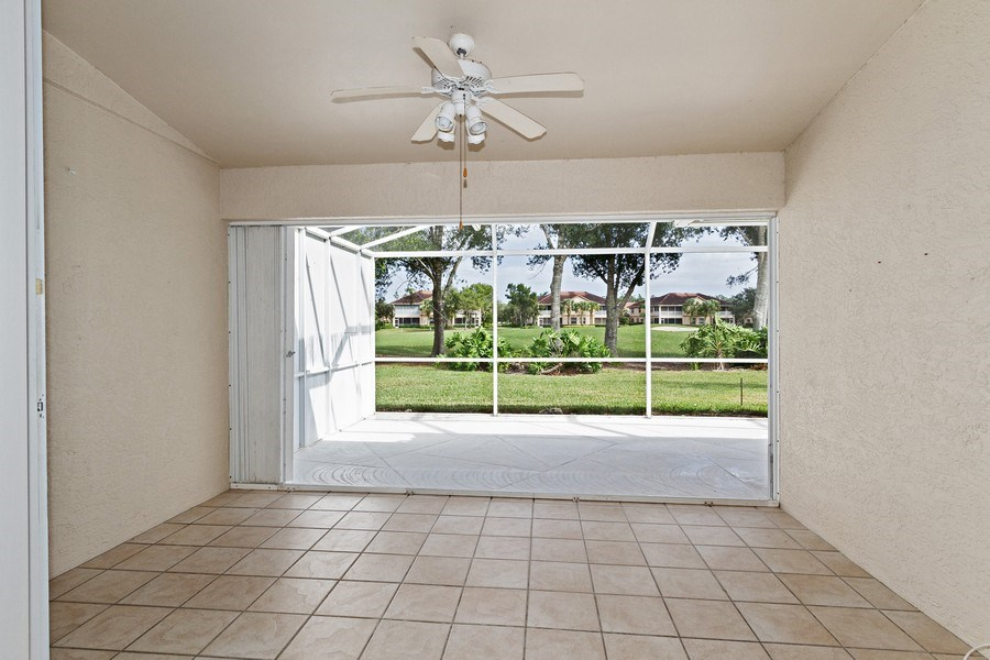 Real Estate Photography - 8071 Palomino Dr, Naples, FL, 34113 - Patio