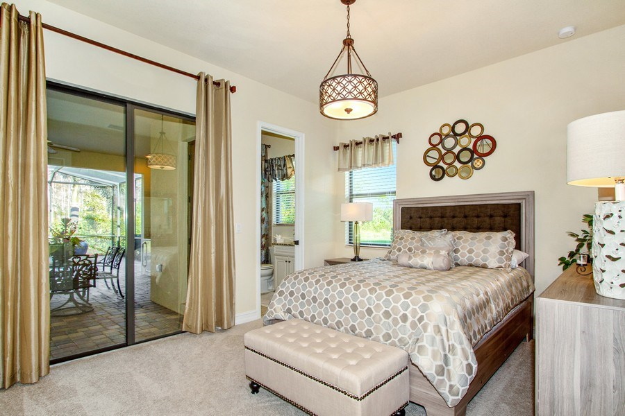 Real Estate Photography - 9514 Firenze Circle, Naples, FL, 34113 - 2nd Bedroom