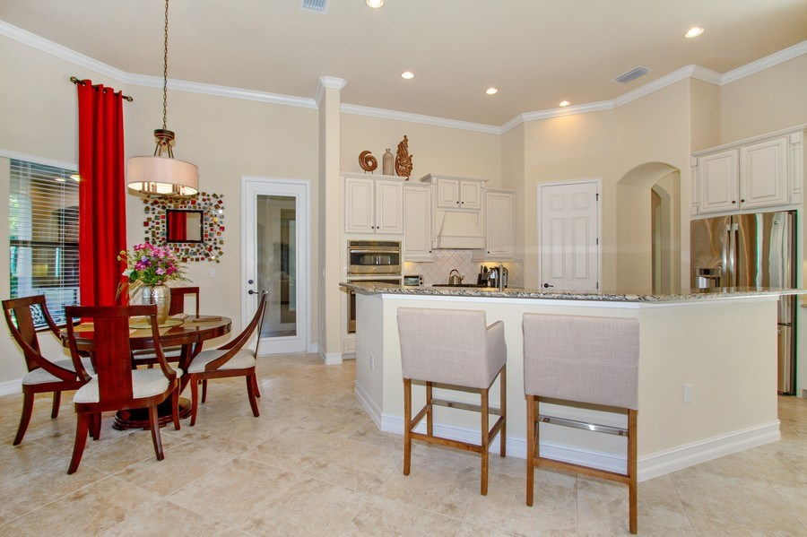 Real Estate Photography - 9514 Firenze Circle, Naples, FL, 34113 - Kitchen
