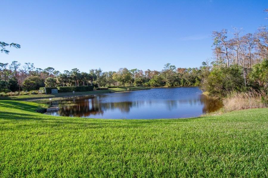 Real Estate Photography - 9514 Firenze Circle, Naples, FL, 34113 - Lake
