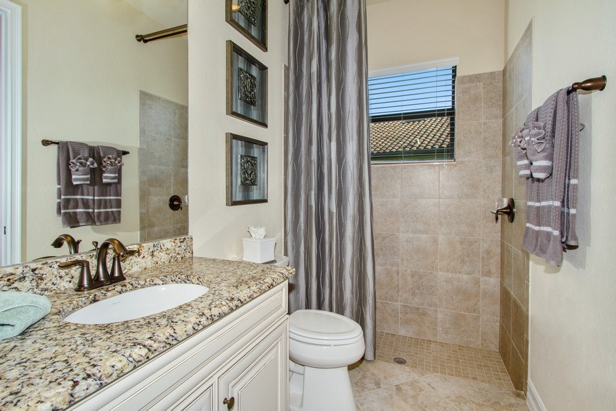 Real Estate Photography - 9514 Firenze Circle, Naples, FL, 34113 - Bathroom
