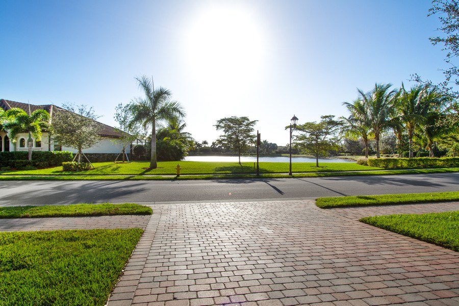 Real Estate Photography - 9514 Firenze Circle, Naples, FL, 34113 - Lake View