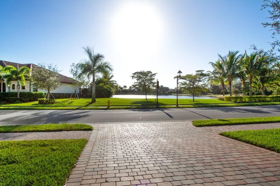 Real Estate Photography - 9514 Firenze Circle, Naples, FL, 34113 - Lake View