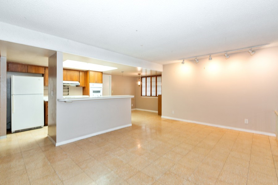 Real Estate Photography - 5051 Dartmouth Ave, Westminster, CA, 92683 - Family Room / Kitchen