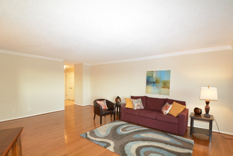 Real Estate Photography - 5904 Mount Eagle Dr, Unit 814, Alexandria, VA, 22303 - Living Room