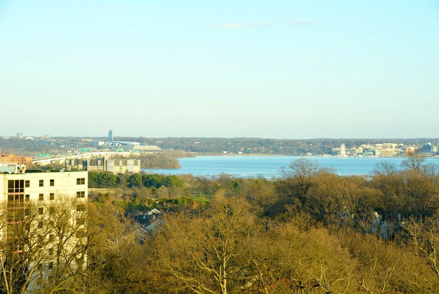 Real Estate Photography - 5904 Mount Eagle Dr, Unit 814, Alexandria, VA, 22303 - Enjoy wonderful views year-round, incl National Ha